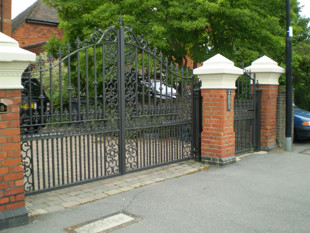 London S Finest Wrought Iron Amp Metal Gates Titan Forge Ltd